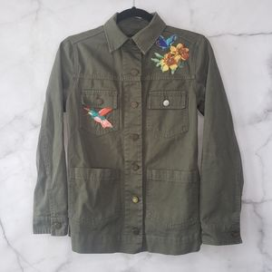 Who what wear utility jacket with patches